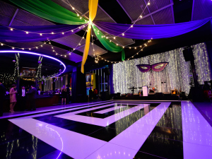 M&T Stadium Corporate - Mardi Gras Dance Floor