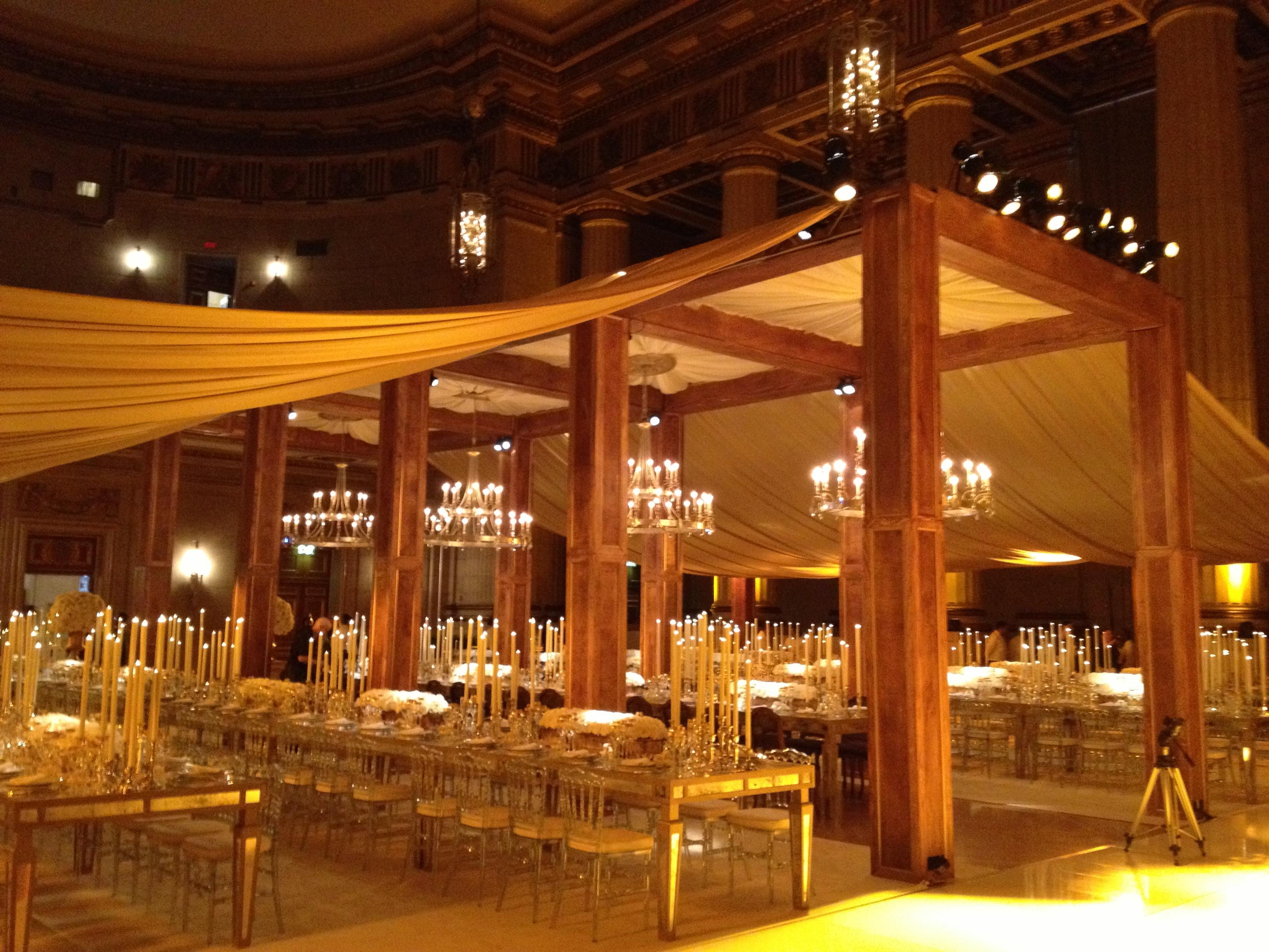 Andrew W Mellon Auditorium Fabrication Events